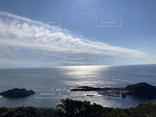 自然,海,空,屋外,湖,ビーチ,雲,水面,海岸,山