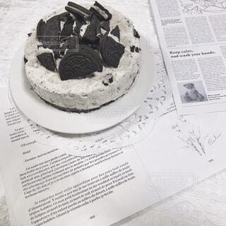 カフェ,おうちカフェ,手作り,おうち,菓子,オレオチーズケーキ,おうち時間
