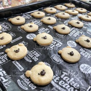 くまクッキーの写真・画像素材[4329699]