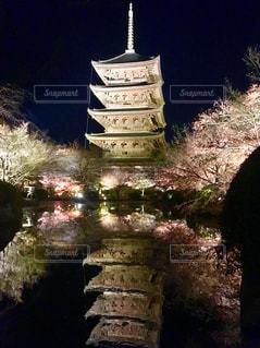 京都,世界遺産,イルミネーション,五重塔,ライトアップ,東寺,夜間拝観,真言宗総本山,平安京の遺構