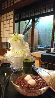 かき氷,宇治抹茶