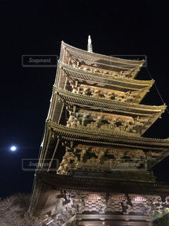 京都,世界遺産,観光,五重塔,月,ライトアップ,東寺,三十三間堂,夜間拝観,真言宗総本山,平安京の遺構