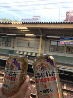 電車,観光,キリンビール,京都に乾杯
