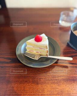 いちごのショートケーキの写真・画像素材[4337299]