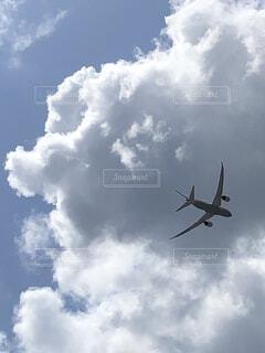 空,屋外,雲,青空,飛行機