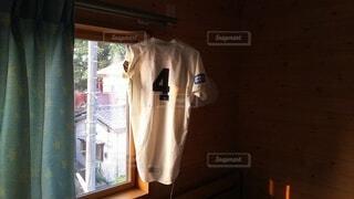 窓,野球,ユニフォーム,背番号,4