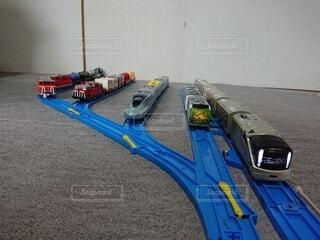 列車,おもちゃ,鉄道,プラレール,車両,四季島