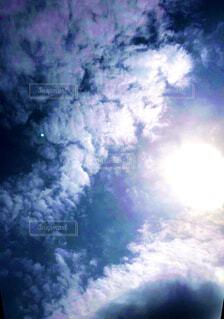 空,太陽,雲,青,ヒカリ,蒼