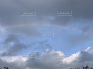 自然,空,屋外,雲,虹,くもり