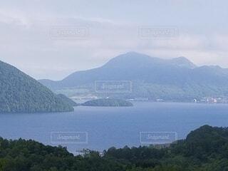 自然,空,湖,雲,山,景色