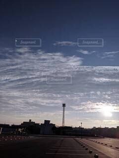 風景,空,屋外,雲,タワー,高層ビル