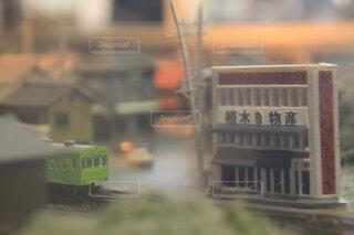 電車,霧,ミニチュア,レトロ,バス,鉄道,模型,車両,陸上車両