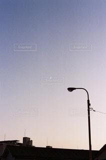 自然,風景,空,屋外,月,明るい,街路灯