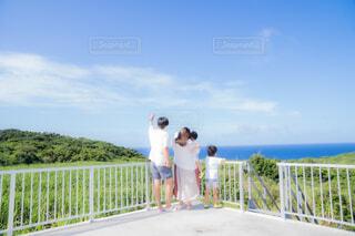 屋上からの景色の写真・画像素材[4553076]
