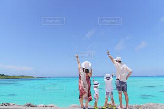 家族4人の写真・画像素材[4591847]