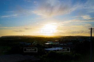 屋上から見える景色の写真・画像素材[4624096]