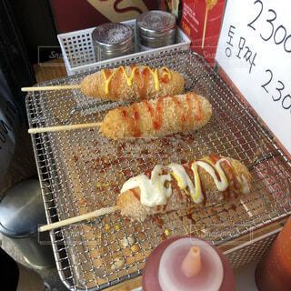 食べ物,皿,韓国,おいしい,海外旅行,韓国料理,ファストフード,チーズハットク