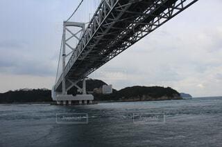 海,空,橋,雲,船,徳島県,鳴門大橋