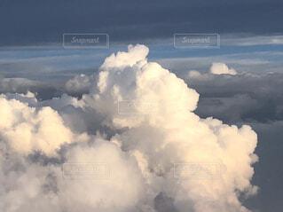 空,富士山,雲,山頂,山の上からの景色