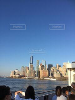 風景,空,建物,ニューヨーク,青空,景色,タワー,都会,高層ビル,NY,New York,ビル群
