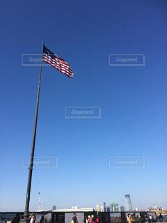 空,青空,アメリカ,星条旗,国旗,旗,USA,アメリカ合衆国,米国旗,アメリカ合衆国の国旗,合衆国旗