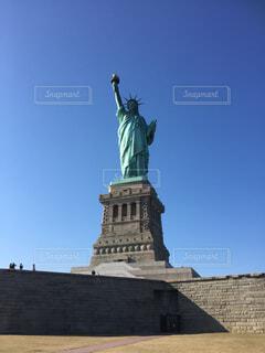 空,ニューヨーク,アメリカ,観光,旅行,自由の女神,像,USA,アメリカ合衆国,トラベル,Statue of Liberty