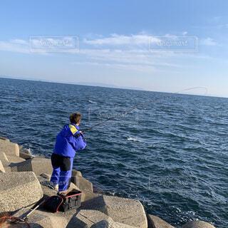 自然,風景,海,空,屋外,湖,ビーチ,ボート,船,水面,人物,人,釣り,水上バイク