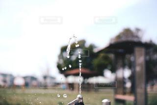 空,屋外,水面,ドロップ,液滴