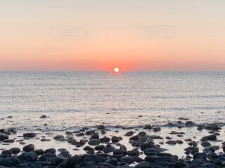 自然,風景,海,空,太陽,ビーチ,夕暮れ,水面,海岸