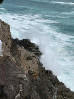 自然,風景,海,水面,海岸,岩,崖