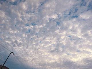 空,屋外,雲,日中