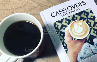 一杯のコーヒーの写真・画像素材[1544916]