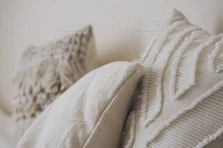 ベッドのクローズアップの写真・画像素材[4469666]