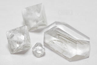 透明,実験,理科,接写,クローズアップ,結晶,自由研究,ミョウバン,みょうばん,硫酸アルミニウムカリウム