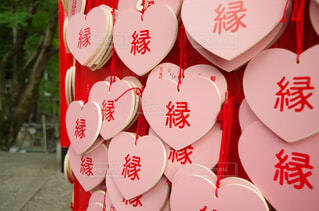 ピンク,神社,ハート,絵馬,PENTAX,恋愛,恋,縁,k50