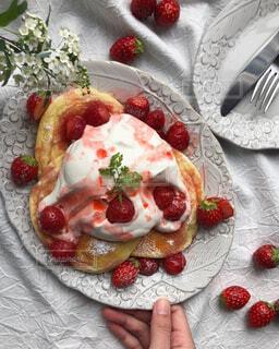 ふわふわパンケーキの写真・画像素材[4355300]