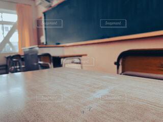 スキのキズの写真・画像素材[4636094]