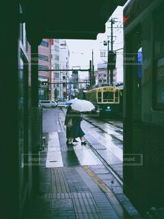 風景,雨,雪,屋外,緑,都会,人物,人,歩道,フィルム,通り,テキスト,フィルム風