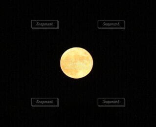 満月の写真・画像素材[4878026]