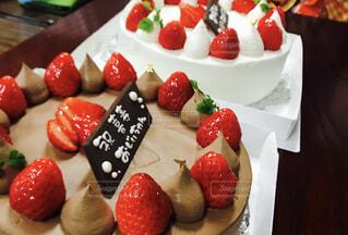 ケーキ,プレゼント,苺,チョコレート,おじいちゃん,お祝い,父,おめでとう,ホールケーキ,喜寿