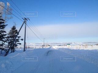 自然,風景,空,冬,雪,屋外,道路,山,凍結