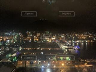 空,建物,夜,屋外,都市,タワー,都会,高層ビル