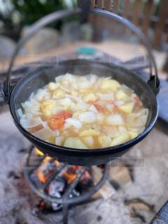 野菜鍋(コンソメ風味)の写真・画像素材[4358120]