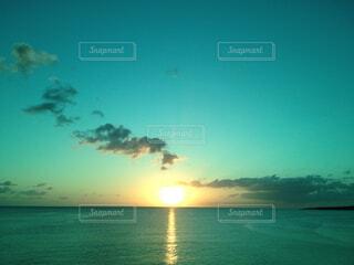 自然,海,空,屋外,太陽,ビーチ,雲,水面