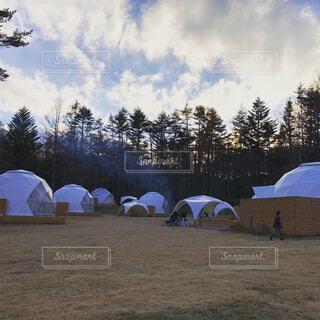 空,傘,屋外,草,キャンプ,防水