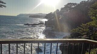 自然,海,空,屋外,水面