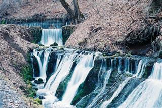 白糸の滝の写真・画像素材[4360011]
