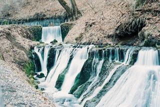 白糸の滝の写真・画像素材[4360027]