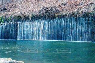 白糸の滝の写真・画像素材[4360024]