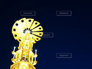 時計塔の写真・画像素材[4362821]